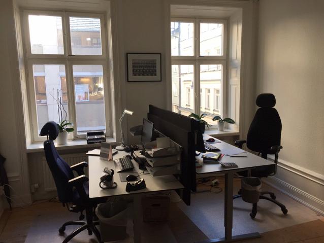 Härligt kontor på Humlegårdsgatan
