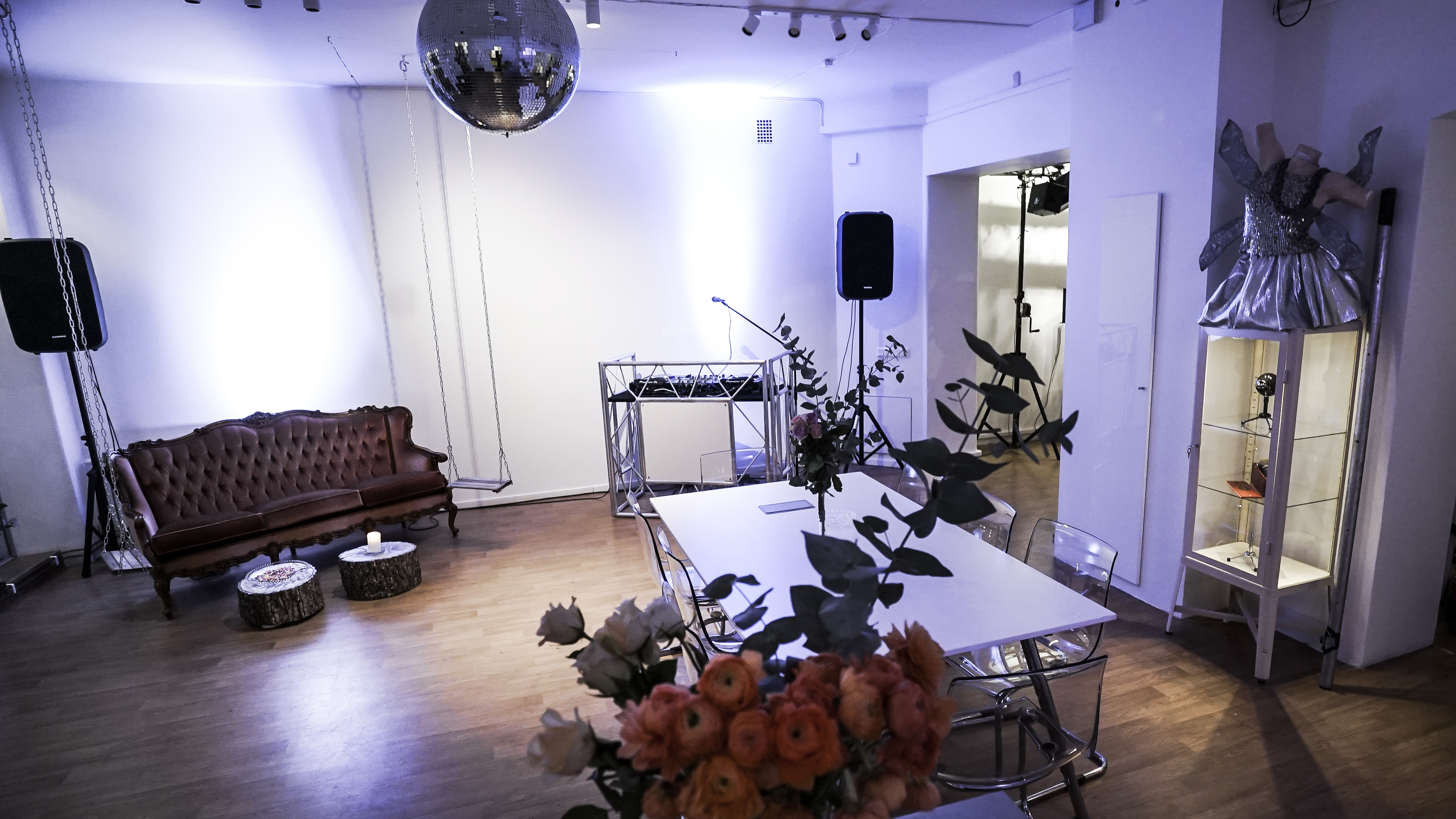 Pop up store, eventlokal, studio